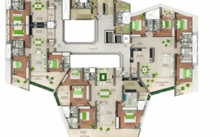 FOR SALE : 4 BEDROOM FLATS AT EMINENCE | VIMAN NAGAR | NEAR NAGAR ROAD, PUNE